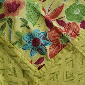 2 April Cornell Tablecloths  matching